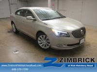 Options:  2014 Buick Lacrosse 4Dr Sdn Leather