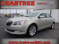 Options:  2014 Buick Lacrosse Leather|Leather 4Dr