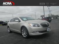 Used 2014 Buick LaCrosse, stk # 17587, key features