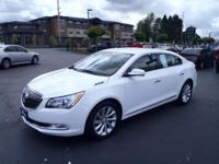 2014 Buick LaCrosse Leather Group White Fresh Oil