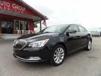 Options:  2014 Buick Lacrosse Safe Serene Luxury