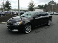 This 2014 Buick LaCrosse Premium II Group in Smoky Gray