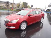 CARFAX One-Owner. 2014 Buick LaCrosse Premium 1 Group