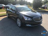 CARFAX One-Owner. Clean CARFAX. Black 2014 Buick
