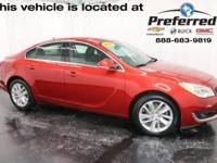 Copper Red Metallic 2014 Buick Regal Turbo FWD 6-Speed