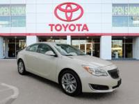 CARFAX One-Owner. Crystal Red Tint 2014 Buick Regal