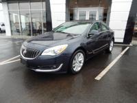Navigation, Sunroof, AWD, Regal Turbo, GM Certified,