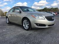 Certified. Gold 2014 Buick Regal Turbo FWD 6-Speed