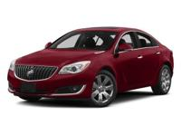 2014 Buick Regal Turbo Clean CARFAX. Vehicle Highlights