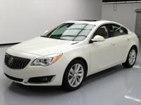 2014 Buick Regal with 2.0L Turbocharged I4