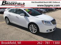 Buick Certified Pre-owned, Clean CARFAX, One Owner.