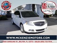 Summit White 2014 Buick Verano Convenience Group FWD