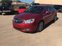 CARFAX One-Owner. Clean CARFAX. Red 2014 Buick Verano