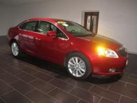 Options:  2014 Buick Verano Leather Group|Red|Clean
