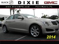 Options:  2014 Cadillac Ats 2.0T|2.0T 4Dr Sedan|Why Pay