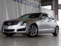 CARFAX One-Owner. Clean CARFAX. Silver 2014 Cadillac