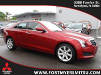 2014 Cadillac ATS 2.0L Turbo in Red Obsession Tintcoat,