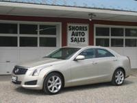 The 2014 Cadillac ATS exquisitely fuses form with