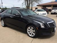 New Price! CARFAX One-Owner. Black Raven 2014 Cadillac