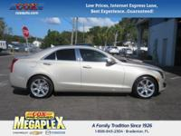 This 2014 Cadillac ATS 2.0L Turbo Luxury in Beige is