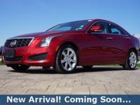 2014 Cadillac ATS 2.0L Turbo Luxury in Red Obsession
