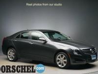 AWD with Nav!!Gray 2014 Cadillac ATS 2.0L Turbo