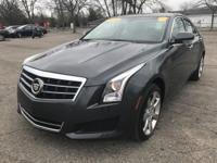 2014 Cadillac ATS Luxury AWD Leather Steering Wheel