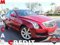 2014 Cadillac ATS Luxury Sedan AWD AWD-All wheel drive
