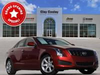 2014 Cadillac ATS 2.0L Turbo Red 2.0L Turbo I4 DI DOHC