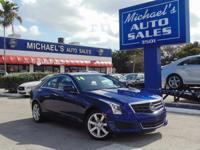Options:  2014 Cadillac Ats 2.5L|Blue|Don't Let The