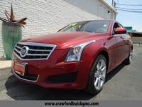 Look at this 2014 Cadillac ATS Standard RWD. Its
