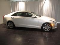 Options:  2014 Cadillac Ats 3.6L Premium|White|Clean