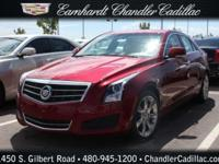 2014 Cadillac ATS Car 3.6 L Luxury Our Location is: