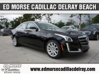 One Owner-Cadillac Certified!   This 2014 CTS 2.0T will