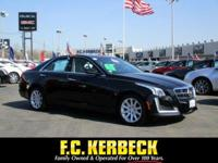PREMIUM & KEY FEATURES ON THIS 2014 Cadillac CTS Sedan