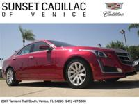 Luxury Cadillac CTS only driven 8k miles a year.