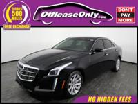 Phenomenal Handling! This 2014 Cadillac CTS finished in