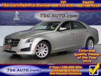 **** JUST IN FOLKS! THIS 2014 CADILLAC CTS HAS JUST