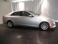 Options:  2014 Cadillac Cts 2.0L Turbo|Silver|Clean