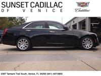 2014 Cadillac CTS Black Luxury Collection with Jet