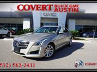 Stylish 2014 Cadillac CTS Luxury Edition four door