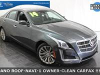 Recent Arrival! 2014 Cadillac CTS in Gray, AUX