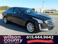 2014 Cadillac CTS 2.0L Turbo Luxury 2.0L Turbo I4 DI
