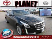 New Price! 2014 Cadillac CTS 2.0L Turbo Luxury Black