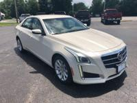 New Price! 2014 CTS 2.0L Turbo Luxury AWD Local Trade,