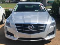 Options:  2014 Cadillac Cts Sedan Luxury Awd|Silver/|V4