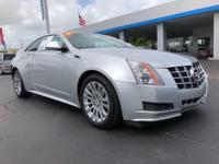 Come see this 2014 Cadillac CTS Coupe . Its Automatic