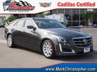 Cadillac Certified, GREAT MILES 32,072! EPA 29 MPG