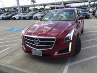 We are excited to offer this 2014 Cadillac CTS Sedan.