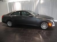 Options:  2014 Cadillac Cts 3.6L Luxury|Gray|Clean
